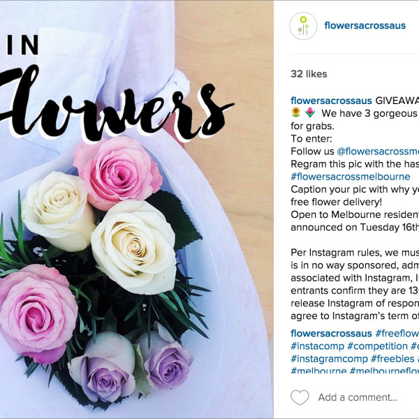 How to Run an Instagram Competition or Giveaway