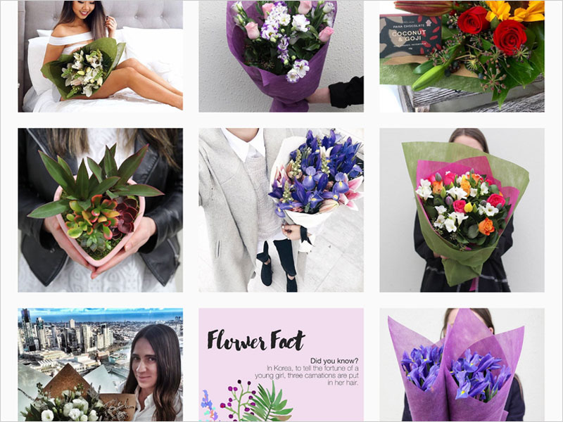 DIGITAL MARKETING: Flowers Across Australia