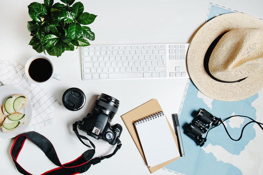 Milkbar Digital - How to flatlay like a pro