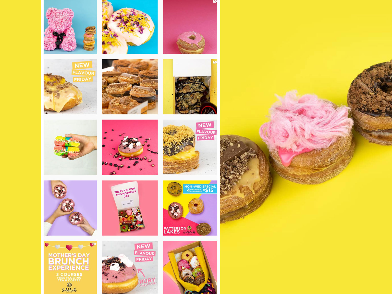 SOCIAL MEDIA & VIDEO: Goldelucks Doughnuts